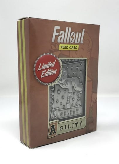 Agility Fallout Limited Edition Perk Card