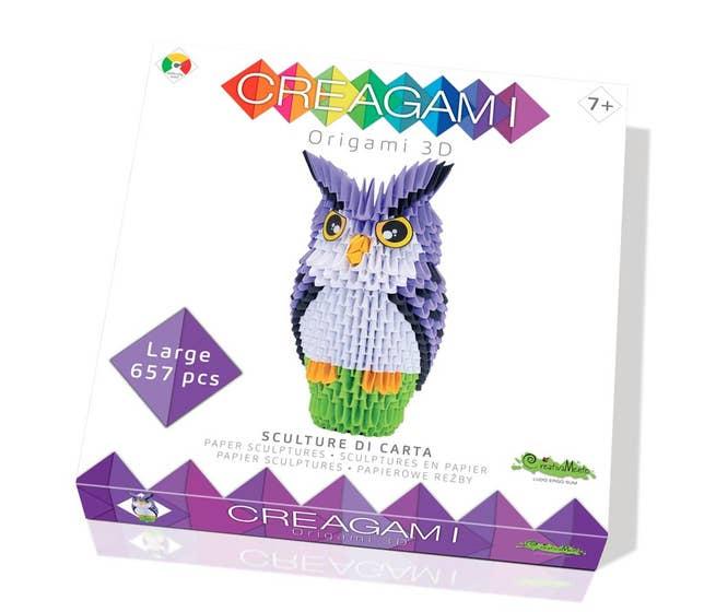 Creagami Large, Owl (657)