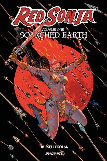 Red Sonja Volume 1: Scorched Earth