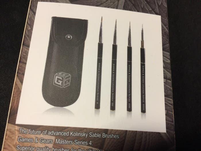 Kolinsky Sable Brush Set