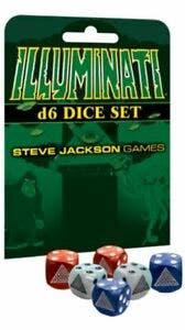Illuminati D6 Dice Set (6)
