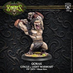 Gorax Light Warbeast