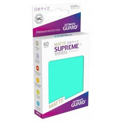 Japanese Size Turquoise Supreme UX Matte Sleeves (60)