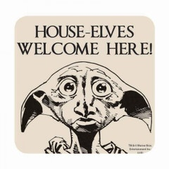 House-Elves Welcome Here! Coaster