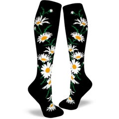 Crazy for Daisies Knee High Socks