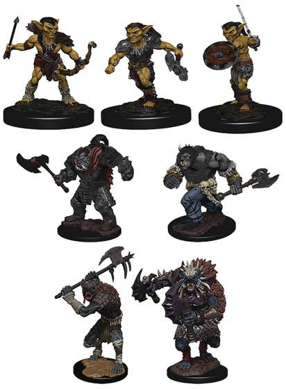 D&d Icons of the Realms Monster Pack Villiage Raiders