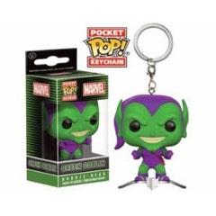 Green Goblin on Glider Pocket POP! Keychain