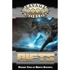 Rifts - Savage Foes of North America Softcover