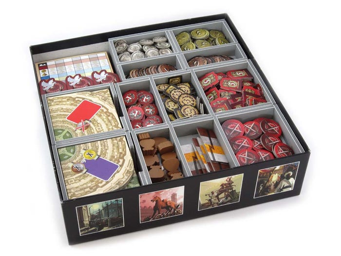 7 Wonders Board Game Organizer
