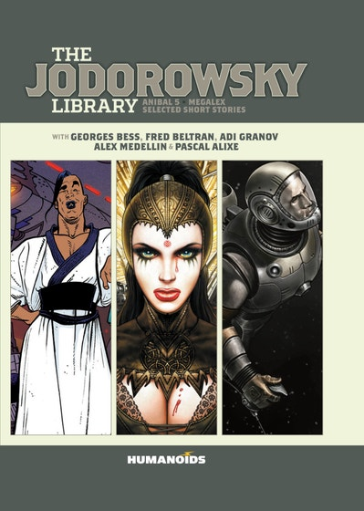 Jodorowsky Library Edition Megalex