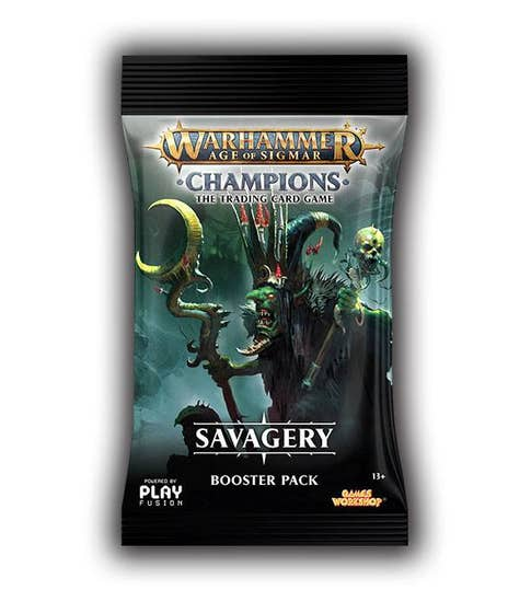 Champions Savagery Booster Pack