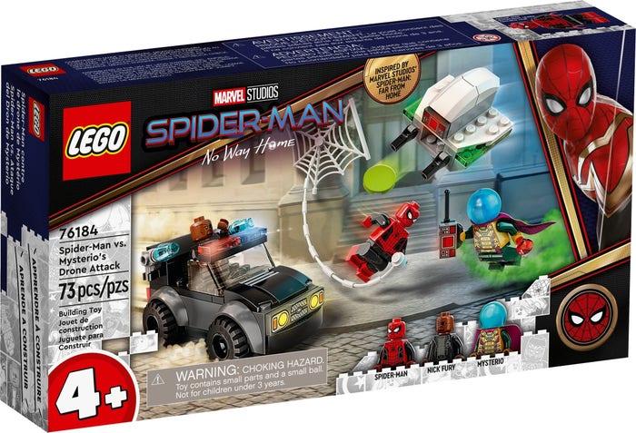 Spider-Man og Mysterios droeangrep