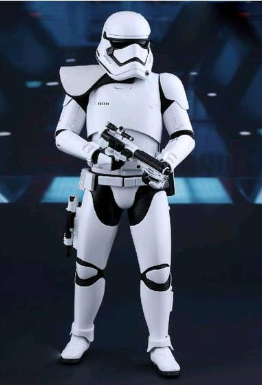 First Order Stormtrooper Leader MMS Action Figure Exclusive