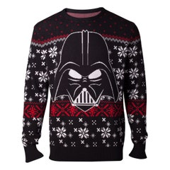 Darth Vader Knitted Men's Sweater (XL)