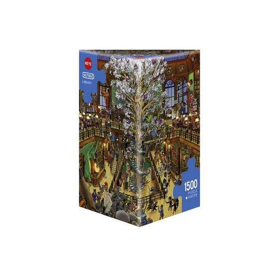 Library Puzzle (1500)