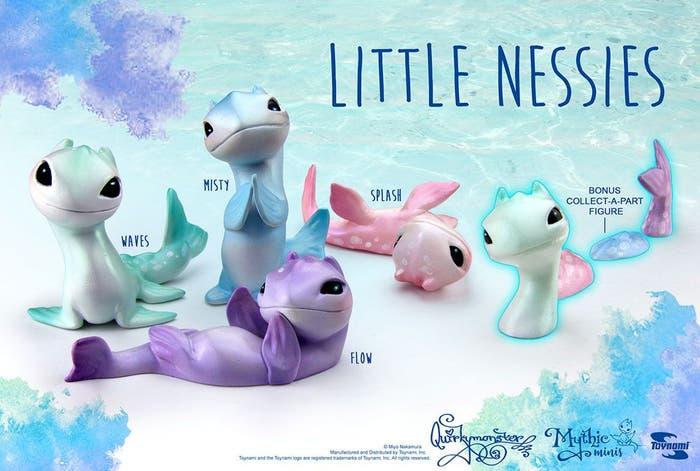 Little Nessies Pvc Figurines Bmb Display