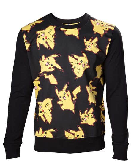 Pikachu All Over Print Sweater (S)