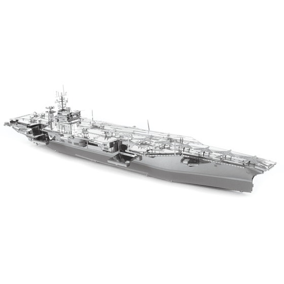USS Theodore Roosevelt CVN-71 3D Metal Model Kit