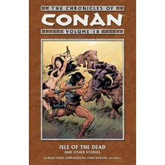 Chronicles Of Conan Volume 18: Isle Of The Dead And Other Stories