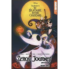 Disney Manga: Tim Burton's The Nightmare Before Christmas -- Zero's Journey Graphic Novel Book 1 (official full-color graphic novel, collects single chapter comic book issues #0 - #5)