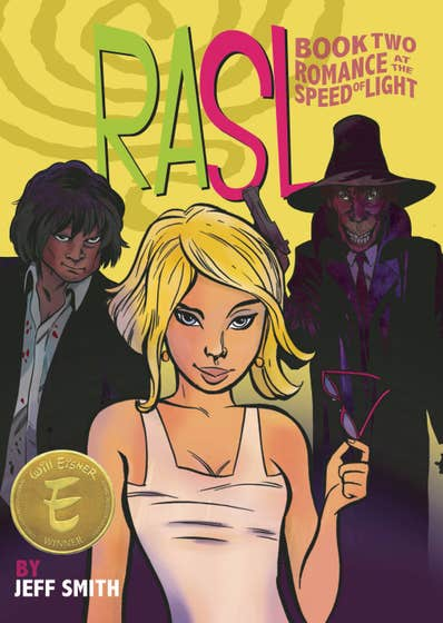 RASL: Romance at the Speed of Light, Full Color Paperback Edition
