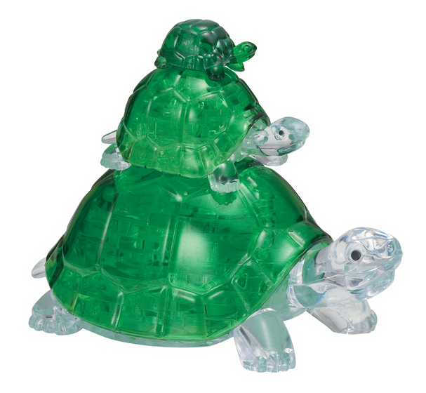 Turtles 3D Crystal Puzzle
