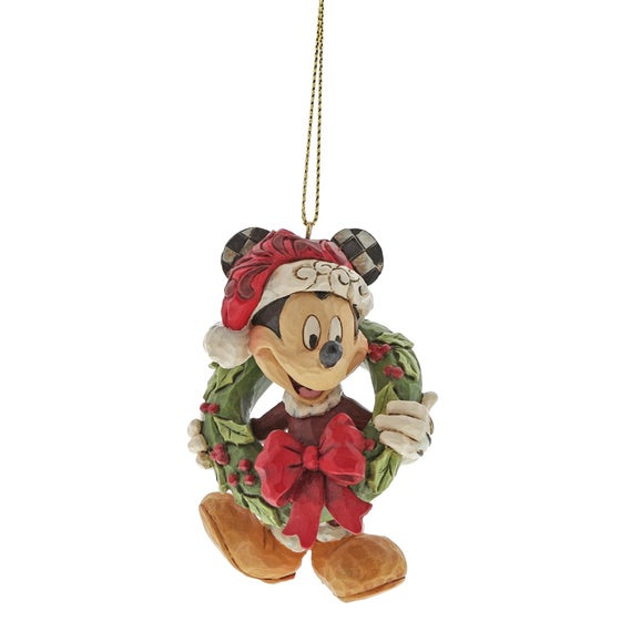 Mickey Mouse Christmas Hanging Ornament 8cm