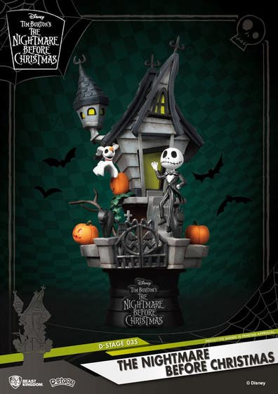 Nightmare Before Christmas Ds-035 D-stage Ser Px 6in Statue