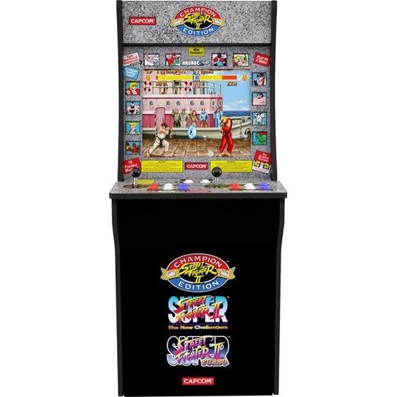 Street Fighter II Champion Edition Arcade Mini Cabinbet 122 cm