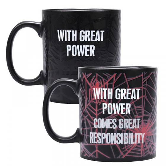 Great Power Black Heat Change Mug