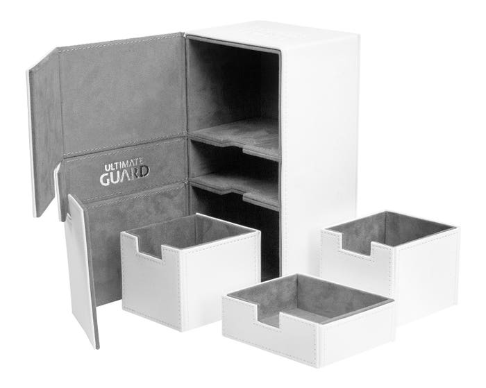 XenoSkin Twin Flip'n' Tray White Deck Case (200+)