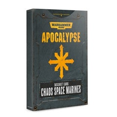 Datasheet Cards Chaos Space Marines