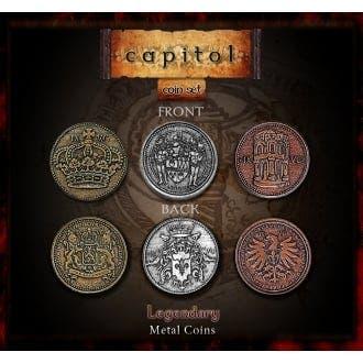 Capitol Metal Coins Set (24)