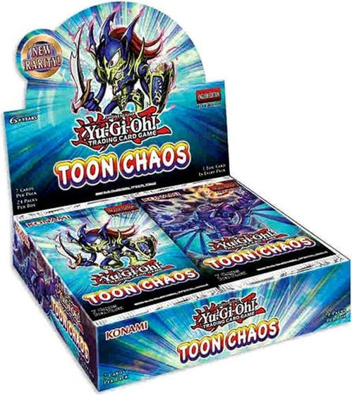 Toon Chaos Booster Display Box