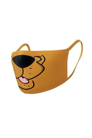 Scooby Doo Mouth Face Mask 2-Pack