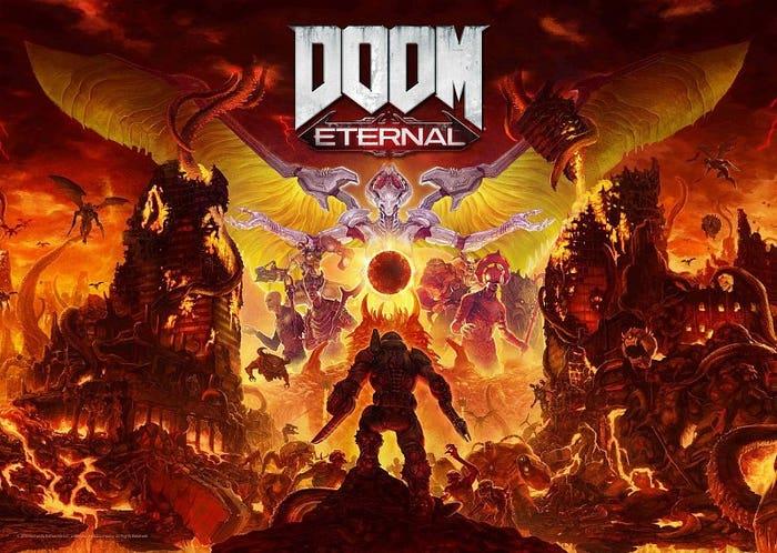 Doom Eternal Limited Edition Art Print