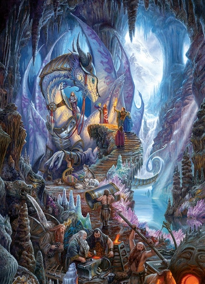 Matthew Stewart Dragonforge Puzzle (1000)