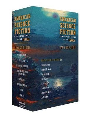 American Science Fiction: Eight Classic Novels of the 1960s 2C BOX SET: The High Crusade / Way Station / Flowers for Algernon / ... And Call Me Conrad / Past Master / Picnic on Paradise / Nova / Emphyrio