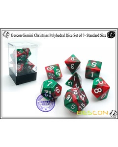 Gemini Poly Red, Green /White (7)