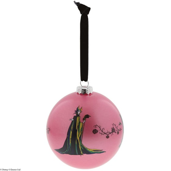 Forest of Thorns Maleficent Christmas Bauble Ø10cm