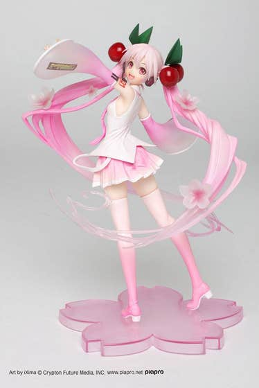 Sakura Miku 2020 Version PVC Statue 18 cm