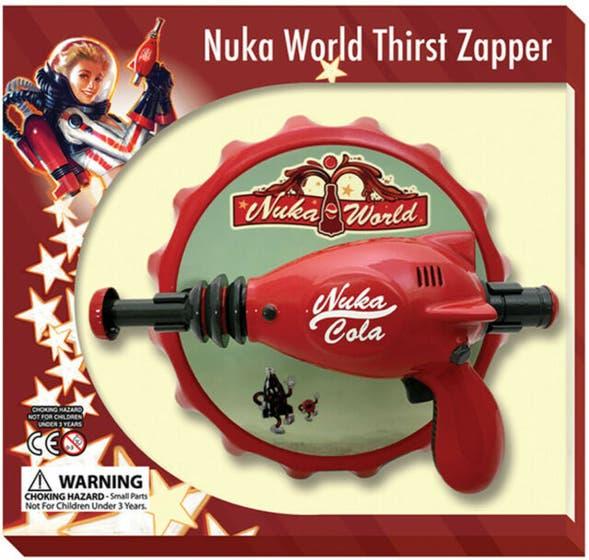Nuka Cola Thirst Zapper Prop Replica 14 cm