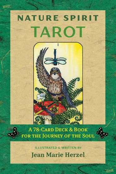 Nature Spirit Tarot: A 78-Card Deck and Book for the Journey of the Soul