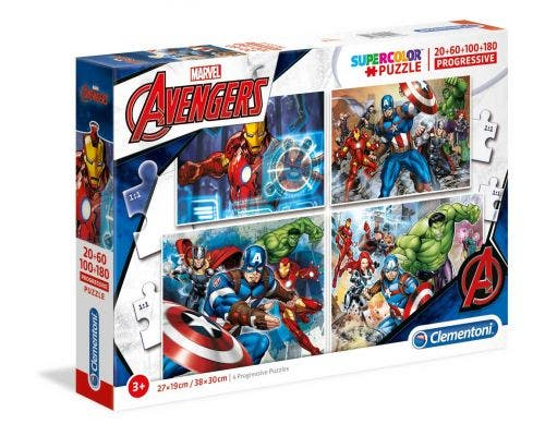 Marvel Avengers Puzzle (20, 60, 100, 180)
