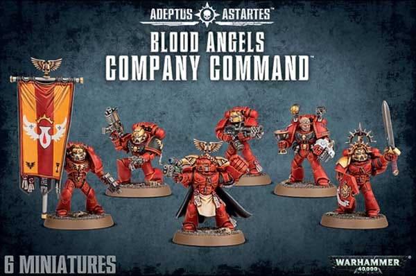 Blood Angels Company Command - 2016