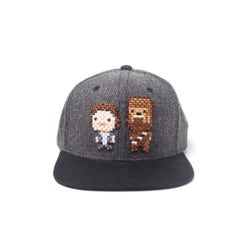Han Solo and Chewbacca Pixel Snapback