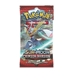 Sun & Moon: Crimson Invasion Booster Pack