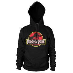 Jurassic Park Distressed Logo Hoodie (M)