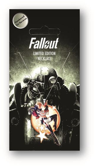 Nuka Girl Fallout Limited Edition Necklace