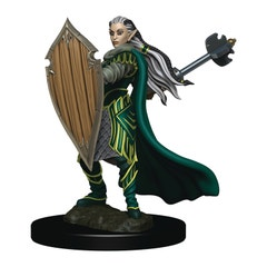 D&d Icons Realm Premium Painted Fig Elf Paladin Female